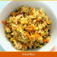 Yummy, easy fried rice