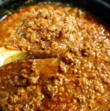 Versatile veggie filled bolognaise sauce