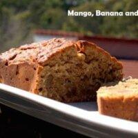 mango banana and coconut bread