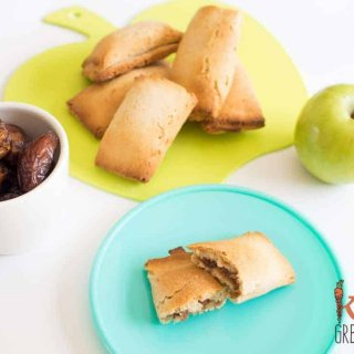 date and apple bickies