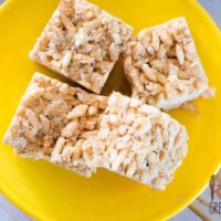 Not quite lcms, the perfect replacer for storebought rice krispie bars!