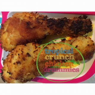 tropical crunch chicken drumsticks