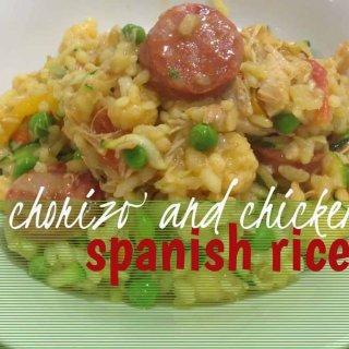 chorizo and chicken spanish rice