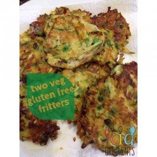two veg gluten free fritters