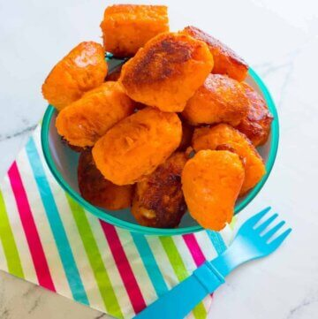 Sweet Potato Gems, yummy tater tots!