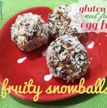 fruity snowballs