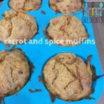 carrot and spice muffins