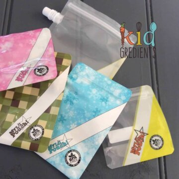 yoghurt pouches