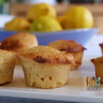 Lemon mini muffins