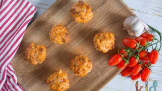 Pizza mini muffins