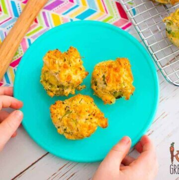 Broccoli and Cheese mini muffins