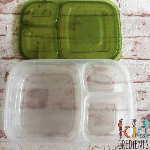 easy lunchbox empty