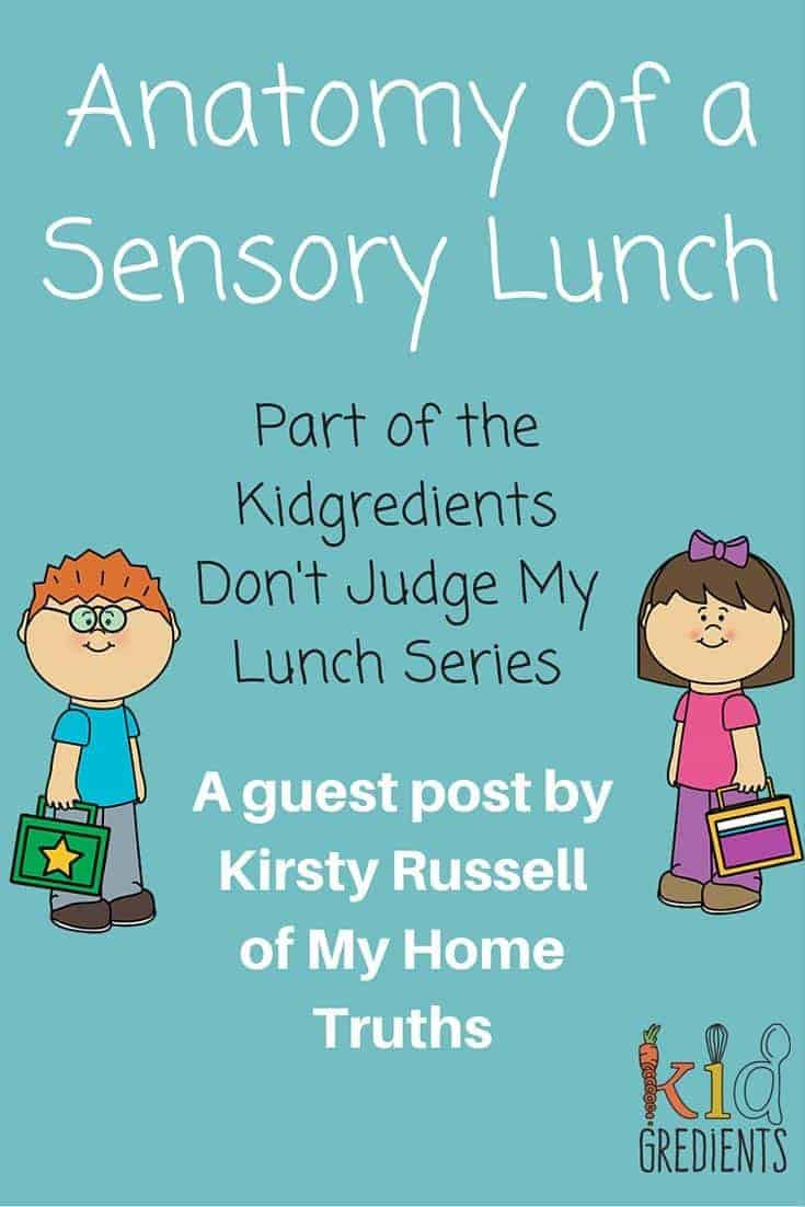 Don't judge a lunchbox! Make sure you read about Sensory Lunches and what they are all about!