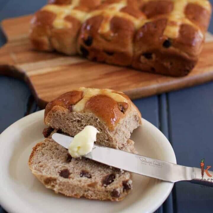 Hot cross buns with no nasties