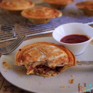 lamb and veggie pies