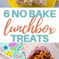 6 no bake lunchbox treats to help make lunchboxes yummier! #kidsfood #lunchbox #toddlerfood #familyfood #healthyfood