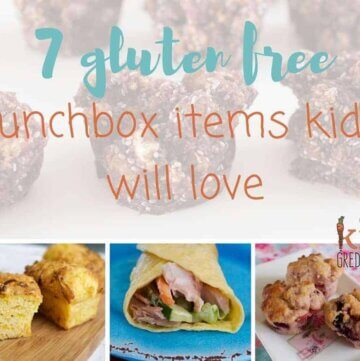 7 gluten free lunchbox items kids will love