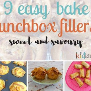 9 easy bake lunchbox fillers!