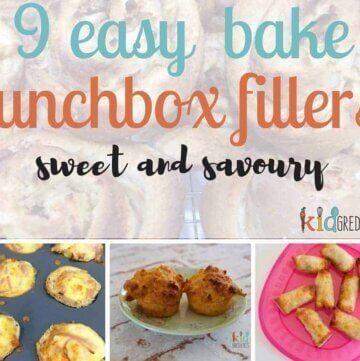 9 easy bake lunchbox fillers!