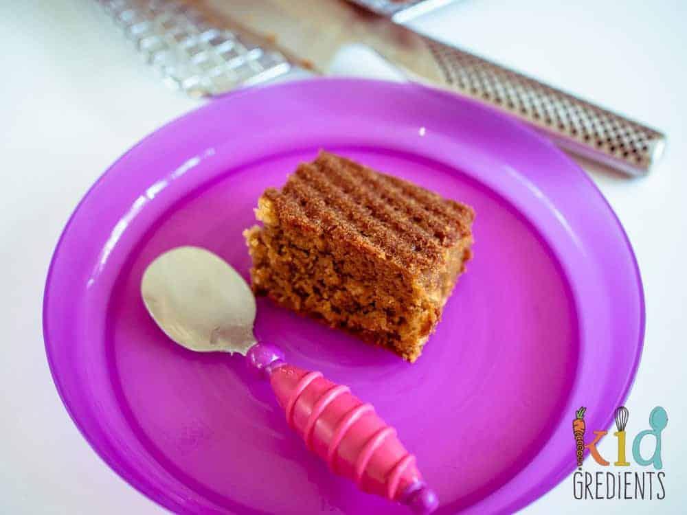 coconut and vanilla cake (hidden beetroot)