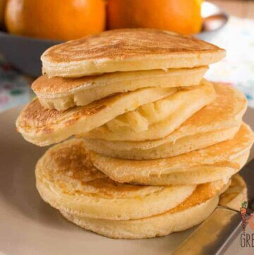 orange buttermil pikelets
