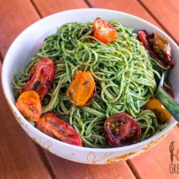 mum lunch #2 pesto