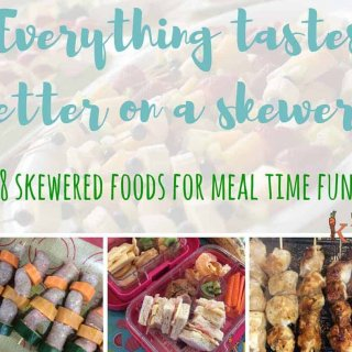 everything tastes better on a skewer