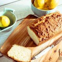Coconut and lemon yoghurt loaf