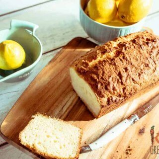 lemon and coconut yoghurt loaf