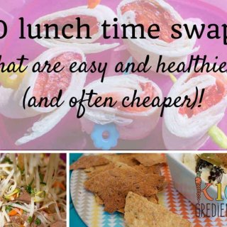 10 lunch time swaps that are easy and healthier (and often cheaper)!