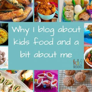 Why I blog about kids food and a bit about me