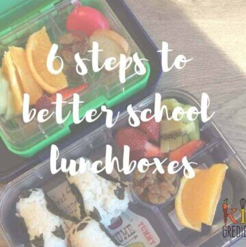 6 steps to better school lunchboxes