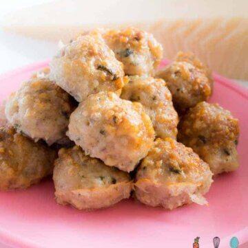parmesand chicken basil baked meatballs