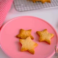 simple healthier sweet biscuits