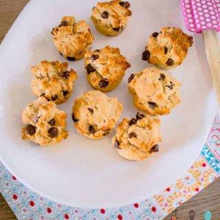 choc hazelnut mini muffins