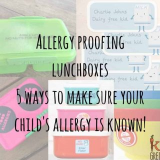 allergy proofing your lunchbox