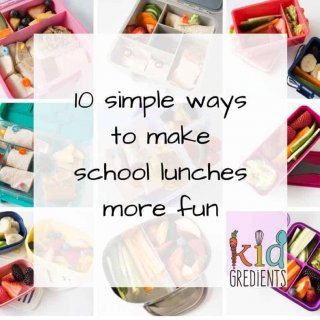 10 simple ways to make school lunches more fun