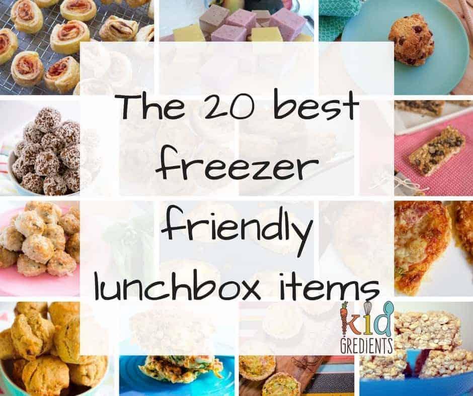 the 20 best freezer friendly lunchbox items