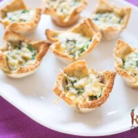 bacon mushroom spinach breakfast cups