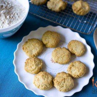 low sugar coconut cookies