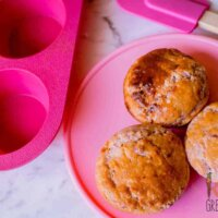 Raspberry coconut muffins egg free