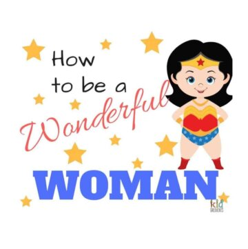 How to be a wonderful woman