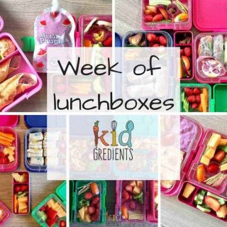 week of lunchboxes