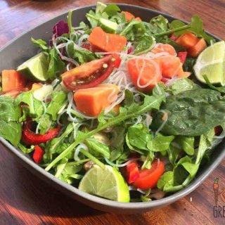 papaya noodle salad