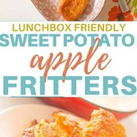 These delicious sweet potato and apple fritters are perfect for a dinner side or even in the lunchbox. Freezer friendly, kid friendly and super yummy. #kidsfood #familyfoods #lunchbox #healthykidsfood #BLW #babyledweaning