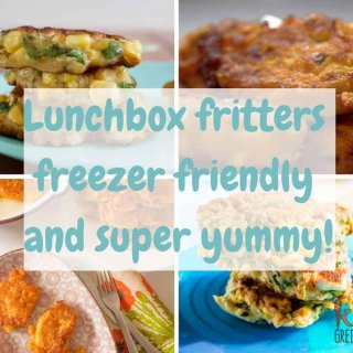 Lunchbox fritters, the perfect collection of yummy fritters that can go in the lunchbox!
