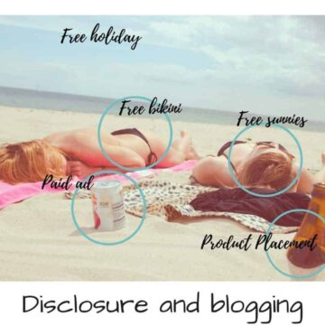 disclosure, blogging