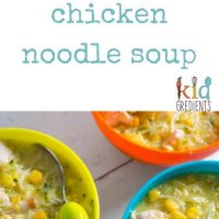 warming chicken noodle soup, the perfect winter warmer when colds and coughs are about
