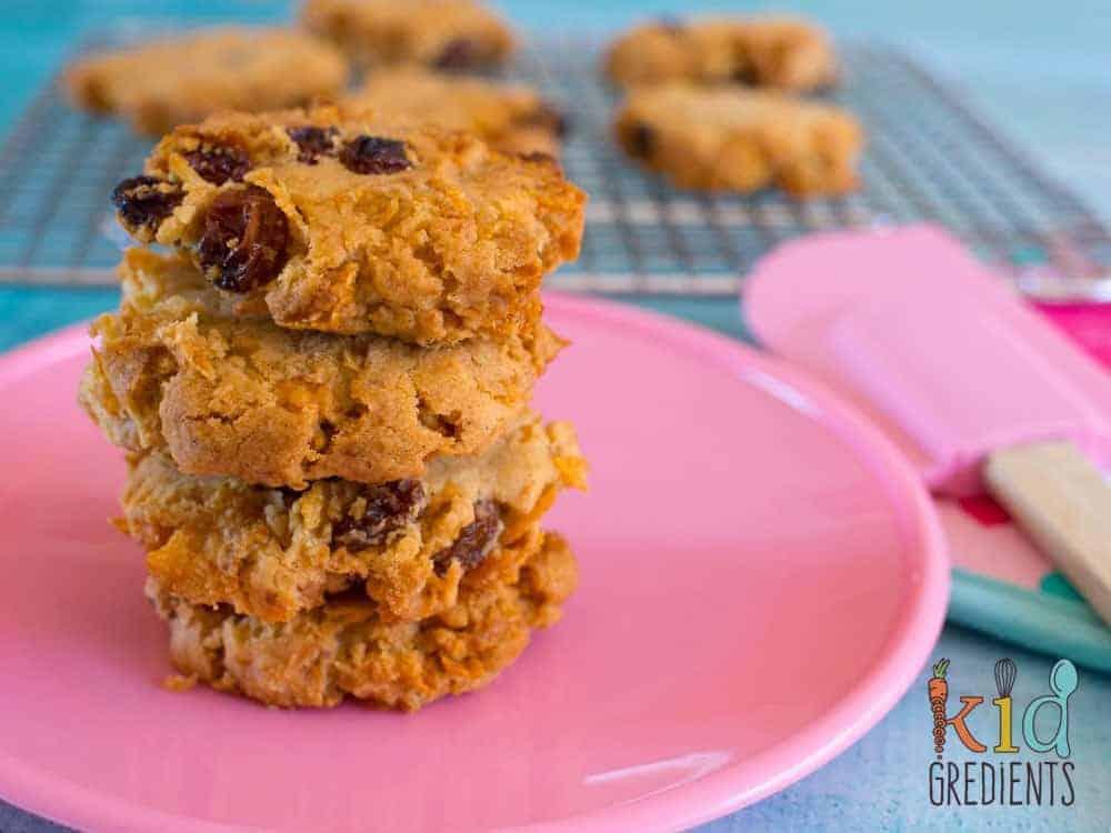 Healthier Cornflake Crunch Cookies Kidgredients