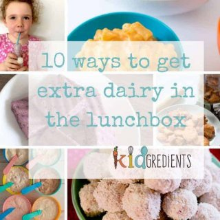 10 ways to include extra dairy in the lunchbox